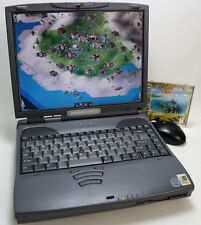 Die Siedler 2 Gold Edition Win 95 Laptop Toshiba Satellite Pro 4300 40GB DOS Top
