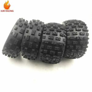 Knobby-Reifen-Hautset vorne und hinten für 1/5 hpi Rovan Km Baja 5b Rc Autoteile