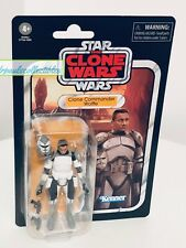 Star Wars Vintage Collection Clone Commander Wolffe VC168 THE CLONE WARS New