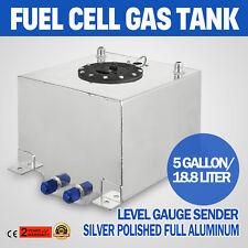 Serbatoio Carburante da 5 Galloni Alluminio Competizione Tank Tank OEM 0-90 Ohm
