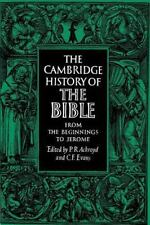 The Cambridge History of the Bible Ser.: The Cambridge History of the Bible...