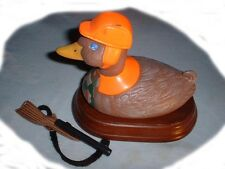 "Too Funny Collectible Original ""Duck� Hunter Hunting Humor With Shotgun Toy"