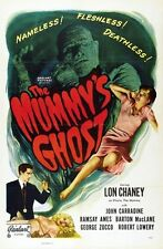 THE MUMMY'S GHOST MOVIE POSTER John Carradine VINTAGE 1