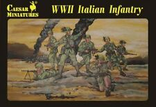 Caesar Miniatures 1/72nd Scale WWII Italian Infantry Soldiers Set CMF72 NEW!