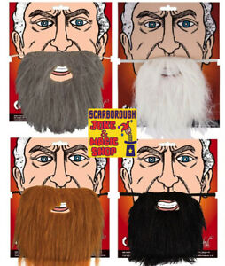 False Character Beard on Elastic ~ Wicked Costumes ~ 4 Colours Available!