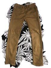 New listing Zara Boys Mustard Draw String Pants 13/14