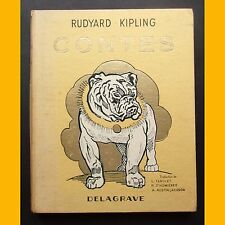 CONTES Rudyard Kipling Paul Durand H. Deluermoz 1953