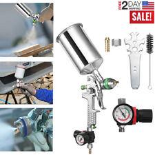 2.5mm Nozzle Air Paint Spray Gun Hvlp Sprayer Gravity Feed Auto Painting 1000ml