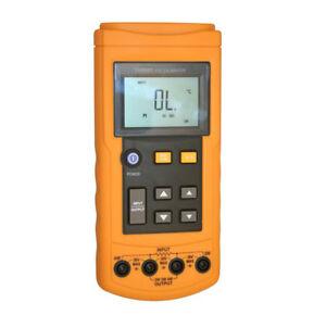 YHS-501 RTD Temperature Signal Process Calibrator Digital Resistance Detector