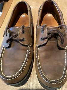 Timberland mens deck shoes size 8