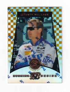 1997 Pinnacle Certified MIRROR GOLD #95  Rusty Wallace SUPER SCARCE