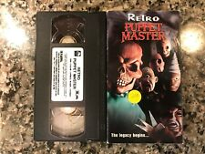 Retro Puppet Master Vhs! 1999 Horror! Also See Demonic Toys 2 & Child's Play 2