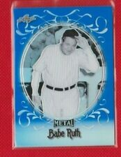 Babe Ruth 2019 Leaf Metal Blue Refractor 5/50  #22