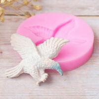 Eagle Flying Silicone Baking Mold for Fondant Gum Paste Chocolate Cake Crafts SL