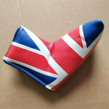 Uk Flag Design Golf Blade Putter Head Cover Headcover for Titleist Scotty Ping