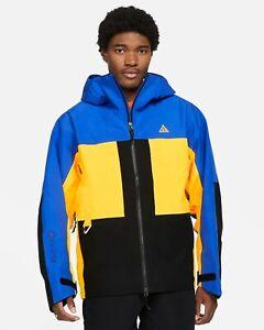 $450 Nike ACG GORE-TEX Misery Ridge Blue Waterproof Jacket CV0634-405 (L,XL,XXL)