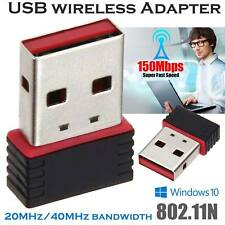 UK Pro Mini USB 2.0 Wireless Wifi802.11n USB LAN Adapter Dongle for Raspberry Pi