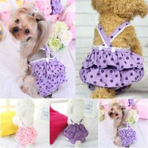 Female Pet Dog Physiological Pants Sanitary Nappy Period Diaper Shorts Underwear