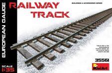 MIN35561 - Miniart 1:35 - Railway Track European Gauge