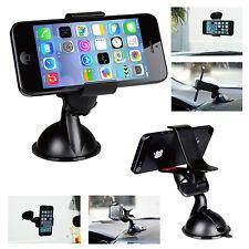 Universal Car Windshield Mount Holder Bracket For iPhone 6/5/4 Samsung Phone GPS