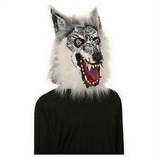 Werewolf Wolf Man Adult Mask Mouth Full 360 Head Realistic Faux Fur Hyde & Eek