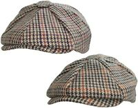 Hommes Casquette Gavroche Newsboy Cap Peaky Blinders Chapeau Plat Caps Gatsby