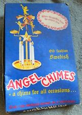 "Swedish Vintage 60's ""Angel Chimes"" Unused in it is Original Box"
