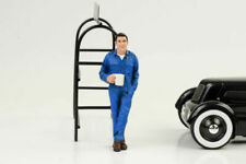 Larry Mechanic Taking Break Figure American Diorama 77495 1 24 Accessory