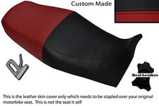 BLACK & DARK RED CUSTOM FITS YAMAHA XJ 900 S DIVERSION 94-04 DUAL SEAT COVER