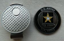 U.S. Army Golf Ball Marker + Magnetic Hat Clip