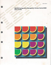 IBM AIX Configuration Management Version Control 6000: 2 Books: Commands & Users