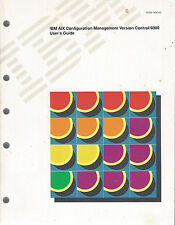 IBM AIX Configuration Management Version Control 6000: 2 Books: Commands & Users