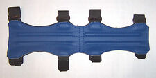 ARCHERY ARM GUARD FOUR STRAP *ROYAL BLUE*  FULL LENGTH GUARD BY ARROWHEAD