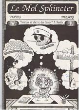 LE MOL SPHINCTER N°2  Fanzine BD 1994 Loquito Guerra