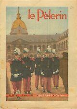 Uniforme Élève-officier de Saint-Cyr aux Invalides Paris 1950 ILLUSTRATION