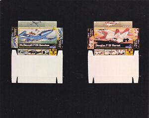 Dollhouse Miniature Replica Fighter Jet Planes Toy Box Kit TBK-1