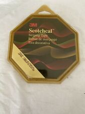 New listing 3M Scotchcal Striping Tape #72037