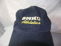 Adidas SNHU Athletics Adjustable Strap Embroidered Navy Baseball Cap EUC