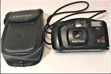 Pentax PC-50 AF Auto Focus Flash 35mm Compact Tested Case Batty Hinge Loose