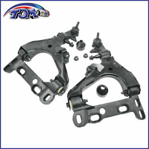 2pcs Front Lower Control Arm Ball Joint For 2004-07 Chevy Trailblazer GMC Envoy