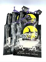 Nightmare Before Christmas Gift Bag Unused Collector Lock Shock Barrel Vintage