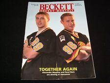 BECKETT HOCKEY MONTHLY ° NOVEMBER 1995 <> MOGILNY / BURE   <>