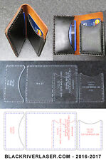 2 OR 4 POCKET CREDIT CARD WALLET - MANY ASSEMBLY OPTIONS  - NEW ITEM 2017  FCCTS