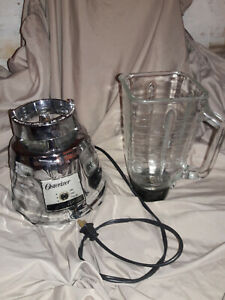 OSTER Osterizer Classic Beehive Blender 5000 Base, Glass Container,&Cap USA Made