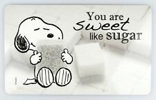 "PEANUTS Frühstücksbrettchen SNOOPY ""You are sweet like sugar"", 14,3x23,2cm"