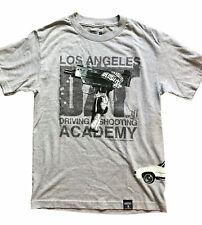 Dizzit! Los Angeles Driving Shooting Academy Limosine Mens T-Shirt Small Gray