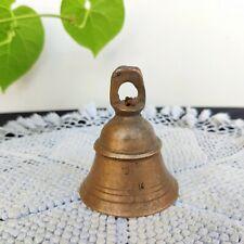 1920s Vintage Primitive Artisanal Bronze Vache Cloche Décoratifs Collection 3.2