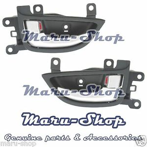 Chrome Inside Door Handle Catch Front Set for 11~16 Hyundai Elantra 4DR/2DR