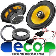 """Audi A2 99-05 JL Audio 2 Way 450 Watts 17cm 6.5"""" Rear Side Panel Car Speakers"""
