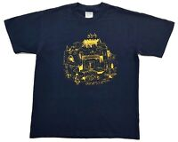Vintage Camp Hillel 2001 Tee Navy Size M Mens T Shirt Hebrew Academy